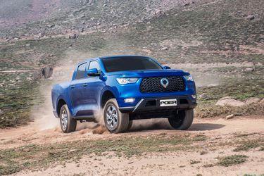 La camioneta Great Wall Poer se estrena en cuatro versiones