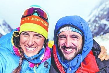 """Tamara Lunger, montañista italiana y compañera de escalada de Juan Pablo Mohr: """"Yo creo que llegó a la cumbre del K2, pero pienso que hubo un accidente"""""""