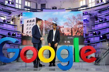 Opening of the new Alphabet's Google Berlin office