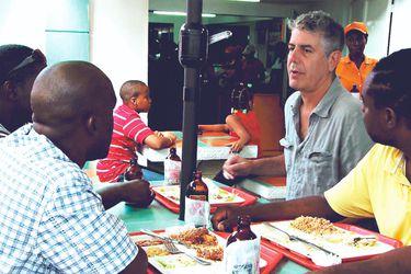 Un golpe de realidad: cuando Anthony Bourdain visitó Haití