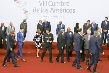 Una ausente Venezuela enfrentó a los líderes en la Cumbre de las Américas