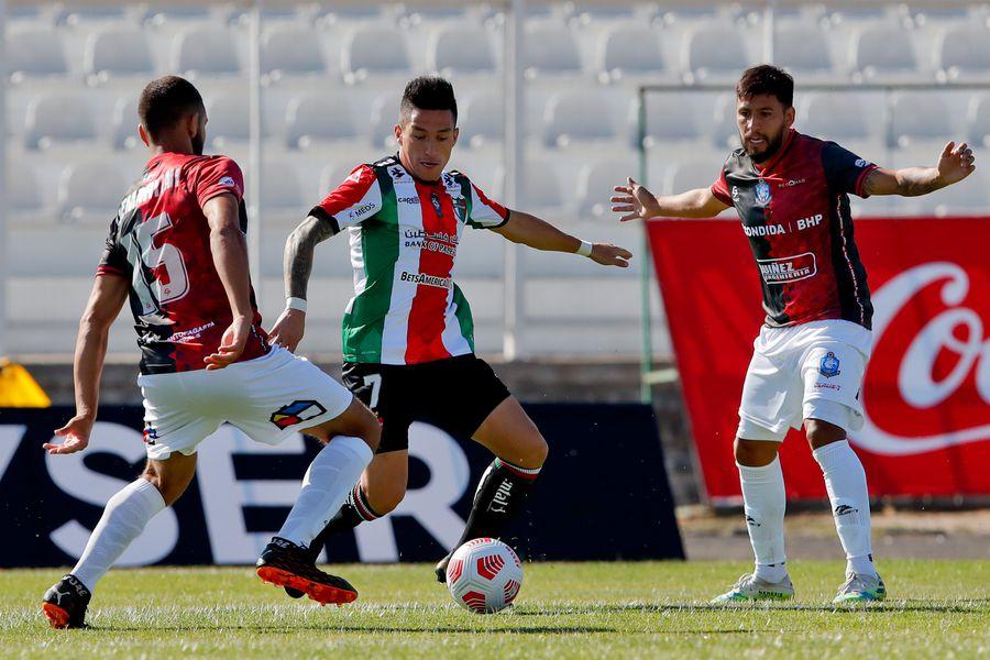 Deportes Antofagasta goleó a Palestino en La Cisterna - La Tercera