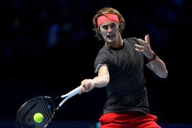 Zverev bota a Federer y se cita con Djokovic en la final del Masters de Londres