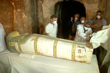 Nuevo gran hallazgo de momias en Egipto