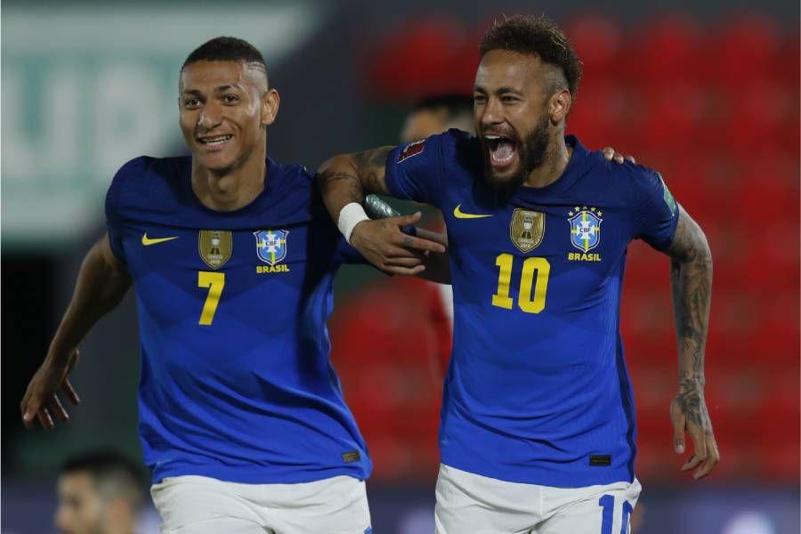 Brasil presentó su nómina para la Copa América de Brasil 2021.