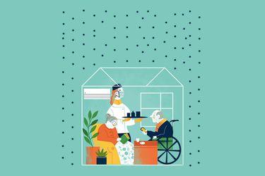 Trabajando en un hogar de ancianos: despachos desde la primera línea invisible