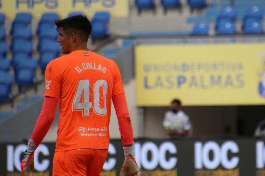Gonzalo Collao en el Extremadura.