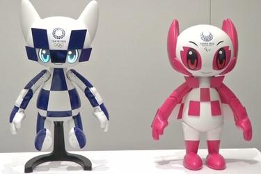 Robots serán las mascotas oficiales de los Juegos Olímpicos Tokyo 2020