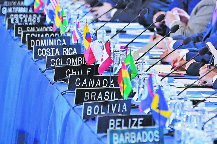Venezuela y Nicaragua protagonizan la Asamblea General de la OEA