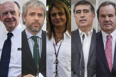 Los cinco rostros de la peor crisis del oficialismo