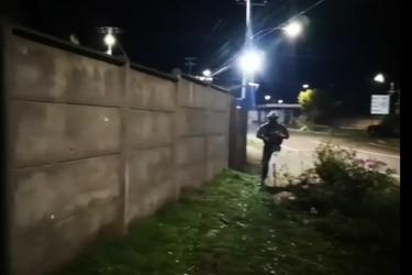 Por segunda vez en 24 horas atacan a balazos subcomisaría de Ercilla