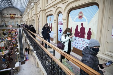 Moscú suaviza sus restricciones por el Covid-19 tras éxito de la campaña de vacunación