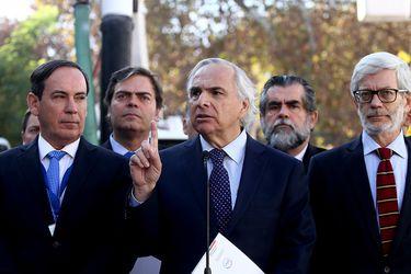 Ministro del Interior Andrés Chadwick
