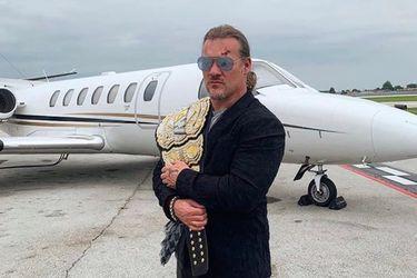 A Chris Jericho le robaron su nuevo título