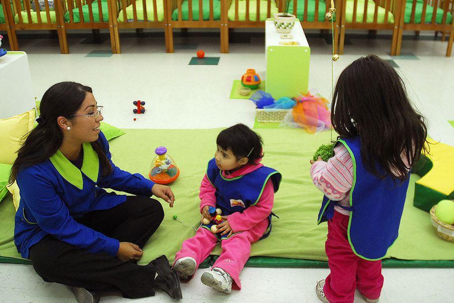Inaguracion de Sala Cuna y Jardin Infantil