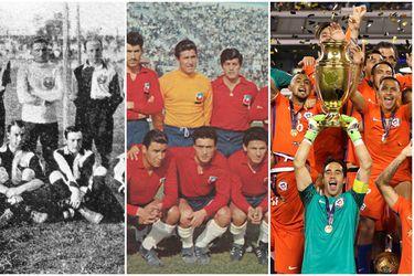 De las camisetas a la apariencia: la evolución de la Selección en sus 110 años de vida