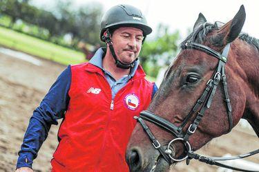 """Ignacio Montesinos: """"Nunca dejamos de entrenar, el caballo hasta se puede morir"""""""