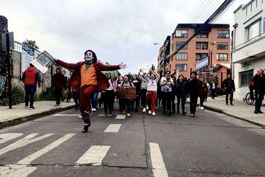 Marchas en Chile: Los cosplays también protestan