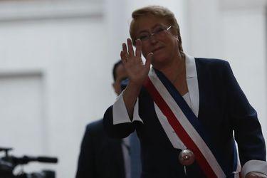 Michelle Bachelet ultima vez