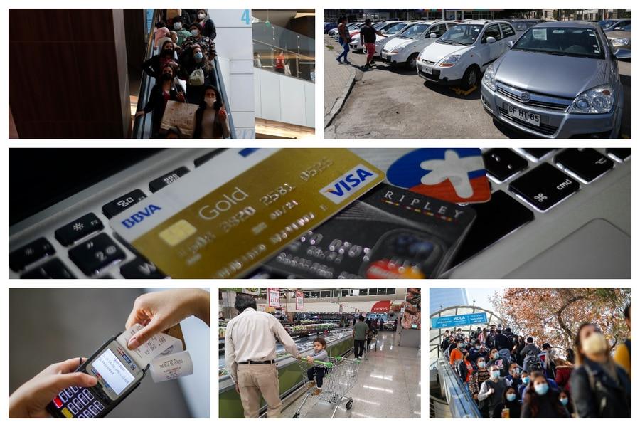 Lo que los chilenos compran en el boom histórico del consumo de 2021