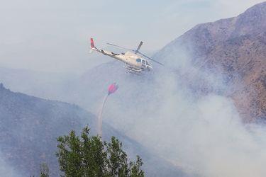 Altas temperaturas: disponen alerta temprana preventiva en regiones Metropolitana y Valparaíso por amenaza de incendios forestales