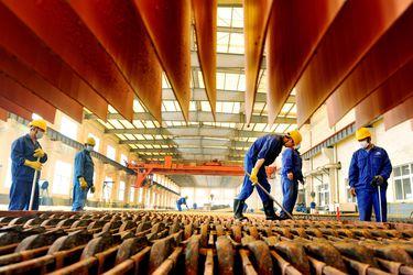 El precio del cobre sufre su mayor caída en más de siete meses tras rozar récords
