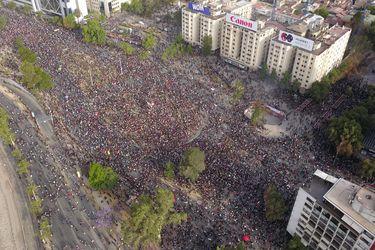 Incidentes en Plaza Italia