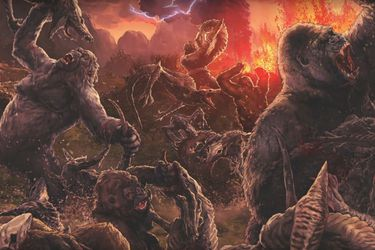Un vistazo al cómic Skull Island: The Birth of Kong