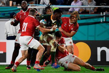 Selección de rugby de Canadá trabaja por las víctimas del tifón Hagibis