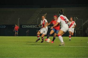 Chile cierra el Sudamericano Sub 20 femenino con un solo punto