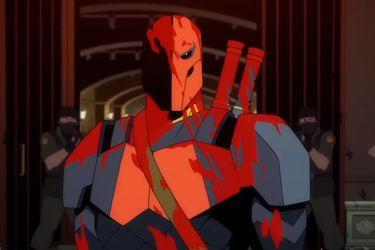 El primer vistazo a la nueva serie animada de Deathstroke