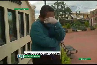 Periodista se quiebra en pleno despacho informando de la grave crisis sanitaria en Ecuador