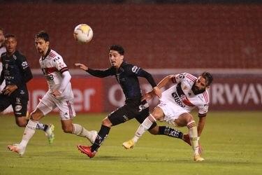 Independiente del Valle le arruina la primera vez a Mauricio Isla