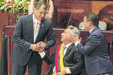 President-Elect Lenin Moreno Is Sworn Into Office