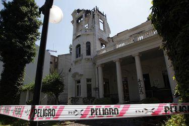 Declaran culpable a imputado por quema de casona de Universidad Pedro de Valdivia