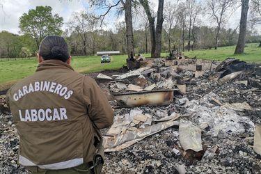 Desconocidos queman viviendas en Lautaro y maquinaria en Carahue a horas de entrada en vigencia del estado de emergencia