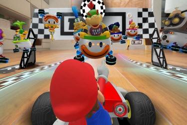 Ahora podrás convertir tu casa en una pista de Mario Kart con Mario Kart Live: Home Circuit