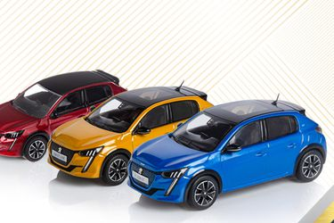 Debuta el nuevo Peugeot 208, ahora en miniatura y para coleccionistas