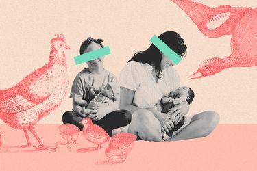 Todas tenemos instinto materno