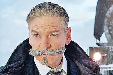 Poirot en el cine: regresa el detective del bigote infalible