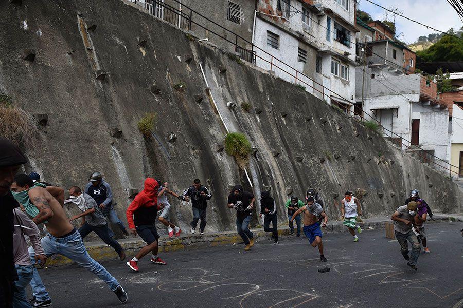 Protestas-en-Caracas