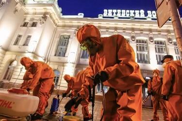Rusia bate récord diario de coronavirus con 17.347 casos nuevos y suma 219 muertos