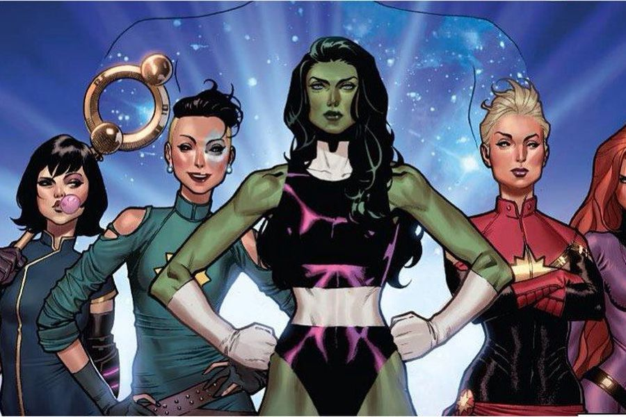 A Team Marvel
