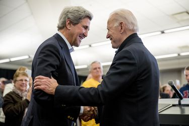 John Kerry, el nuevo consejero para el cambio climático de Joe Biden
