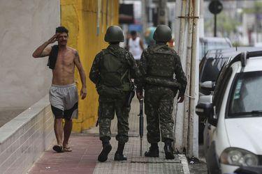 CONFLICTO POR HUELGA DE POLICÍA MILITAR EN ESPÍRITO SANTO COMPLETA SEIS DÍAS
