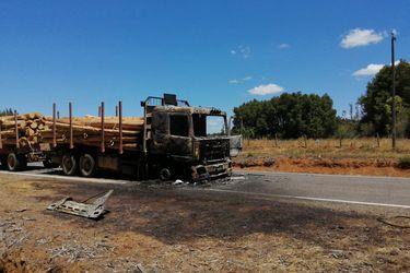 Gobierno se querella por ataque incendiario contra camión forestal en Collipulli