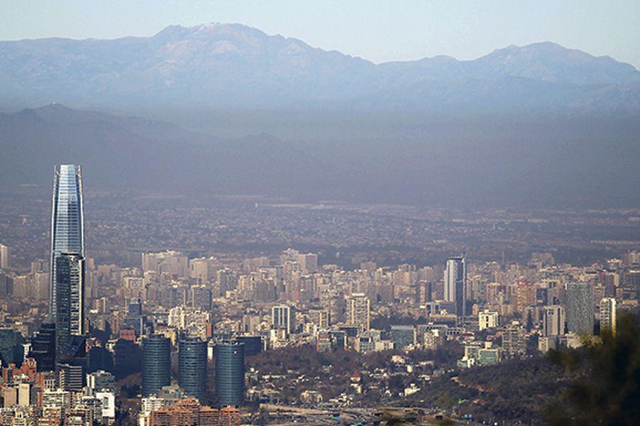 PIB, Chile, Santiago