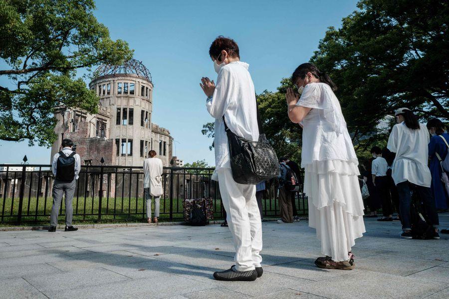 Japón conmemora 76 años de la bomba atómica de Hiroshima en plenos Juegos  Olímpicos - La Tercera