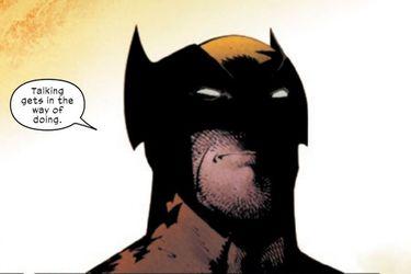 Wolverine orinó en el casco de Magneto