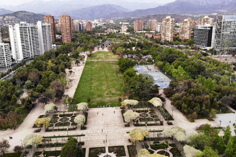 Metro proyecta construir una estación en el Parque Araucano.